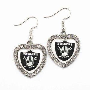 Raiders Earring
